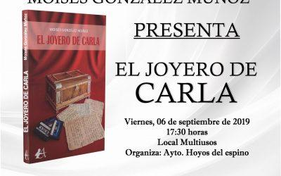"""Presentación del libro """"El Joyero de Carla"""""""