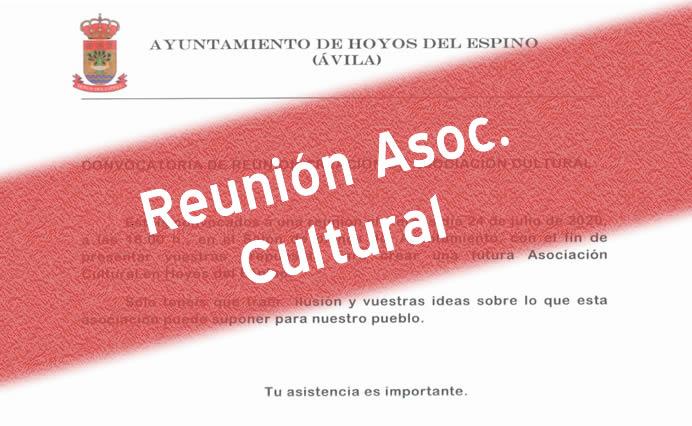 Reunión Asoc. Cultural