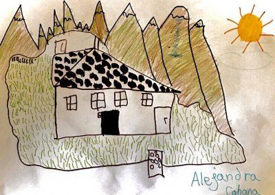 Alejandra Cabana 9 años