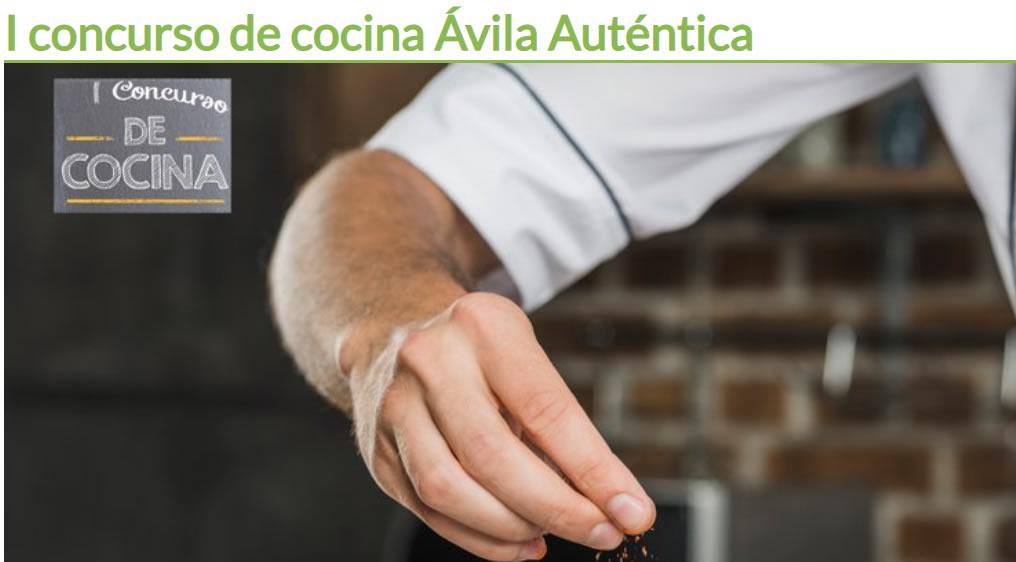 I Edición del concurso de cocina con productos agroalimentarios adheridos a la marca Ávila Auténtica