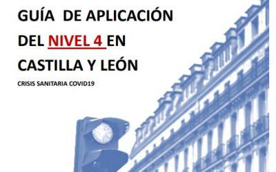 Guía de Aplicación del Nivel 4 por Covid-19