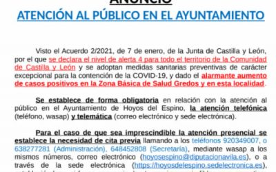 Atención al Público en el Ayuntamiento