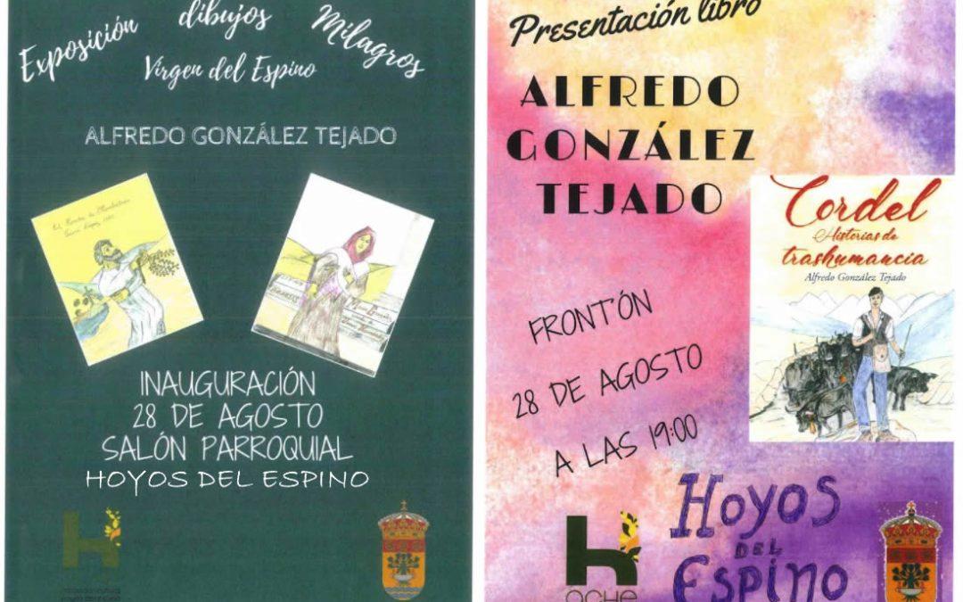 Exposición dibujos y presentación libro
