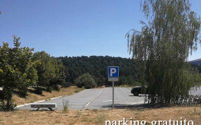 Espacio reservado aparcamiento de autocaravanas